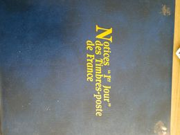 Notice Premier Jour Des Timbres Poste - Collections (with Albums)