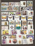 Allemagne Fédérale 1992 - Année Complète MNH - Lots & Kiloware (mixtures) - Max. 999 Stamps