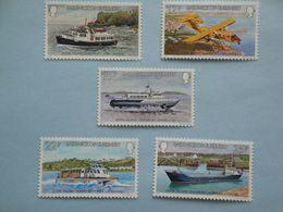 1981 Bateaux Guernesey Yv 234/8 ** MNH Michel 232/6  Scott 227/31  SG  240/4 Ships  Transport - Guernesey