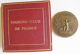 Medaille Touring Club De France Attribué à Soulié, Sa Boîte D'origine, Par Dubois - Otros