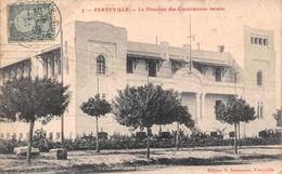 Tunisie - Ferryville - La Direction Des Constructions Navales - Tunisia