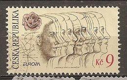 Czech Republik 1995 Europa Obl - Usados