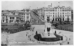 Peru  Plaza San Martin Lima Peru  Photo Kodak Paper Foto  M 3594 - Peru