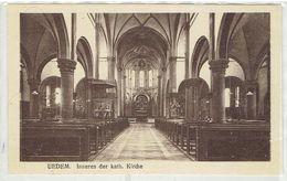 UEDEM - Kleve - Nordrh. Westf. - Inneres Der Kath. Kirche - Kleve