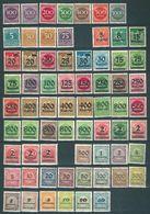 MiNr. 268-330 ** Komplett - Lots & Kiloware (mixtures) - Max. 999 Stamps