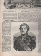 L'ILLUSTRATION 02 11 1850 - MINISTRE SCHRAMM - HAÏTI - MADRID - RHIN BOPPART KREUTZNACH BACHARACH THURNBERG OBERWESEL - - Newspapers