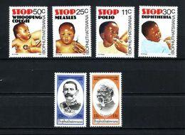 Bofutatsuana Nº 133/6-137/8 Nuevo - Bophuthatswana