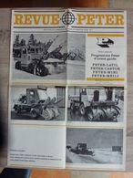 PETER - Constructeur Chasse Neige à Fréland, Près Colmar (68) - Old Paper