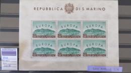 SAN MARINO- 1961 NICE MNH SHEET-SASSONE #23  - 300 € - Saint-Marin
