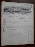 L15/117 Ancienne Facture. Pontarlier. Maison Pernot Fils. 1890 - 1800 – 1899