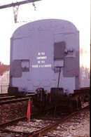 Photo Diapo Diapositive Train Wagon SNCF Service T Instruction Frein N°2 à Lyon Perrache Le 10 Février 1992 VOIR ZOOM - Diapositives (slides)