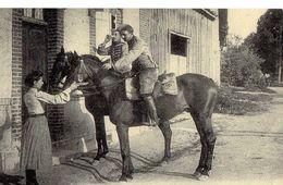 L'ARMEE FRANCAISE Cavalerie Le Coup De L'etrier  (Cartes D'Autrefois) - Autres