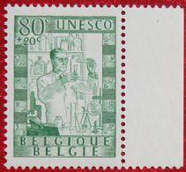 80 + 20c LIQUIDATION UNESCO 1951 OBP 842 (Mi 884) POSTFRIS /MNH ** BELGIE BELGIUM - Unused Stamps