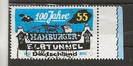 100 Ans Hamburger Elbtunnel. - Used Stamps