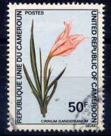CAMEROUN - 532° - CRINUM SANDERIANUM - Cameroun (1960-...)