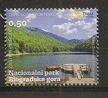 MONTENEGRO 2020, NATUR PROTECTION,NATIONAL PARK BIOGRADSKA GORA.LAKE,FOREST,,MNH - Montenegro