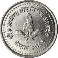 Monnaie, Népal, SHAH DYNASTY, Gyanendra Bir Bikram, 50 Paisa, 2004, Kathmandu - Nepal