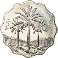 Monnaie, Iraq, 10 Fils, 1981, SPL+, Stainless Steel, KM:126a - Irak