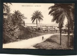 CPA - DUALA - Le Marché, Animé - Camerun