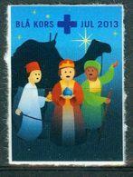 Vi Vignette Denmark 2013 | Christmas Blue Cross, Jul Blå Kors - Erinofilia