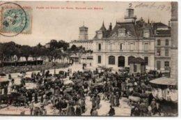 Valence-Place Du Champs De Mars, Marché Aux Boeufs - Valence