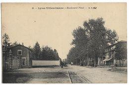 LYON-VILLEURBANNE  (69)  Boulevard Pinel B. F. 16 - Villeurbanne
