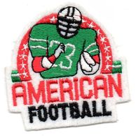 ECUSSON  FEUTRINE    -   AMERICAN FOOTBALL - Patches