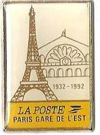 LA POSTE - P2 - PARIS GARE DE L'EST - Verso : SM - TGV