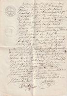 Hist. Dokument / 1822 / Mit Dimensions-Stempel 7 Kreutzer, Ferner Praegestempel Koenigreich Bayern (BM56) - Bayern