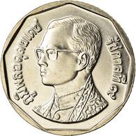 Monnaie, Thaïlande, Rama IX, 5 Baht, 2001, FDC, Copper-Nickel Clad Copper - Tailandia