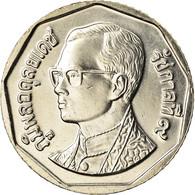 Monnaie, Thaïlande, Rama IX, 5 Baht, 2001, SPL+, Copper-Nickel Clad Copper - Thaïlande