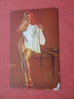 Blank Back  The Doctor Holding Me For Observation       Ref 4124 - Pin-Ups