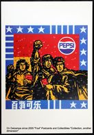 Publicité PEPSI COLA Advert  Chinese Communist Propaganda Poster Art : Wang Guangyi Great Criticism - Satirical