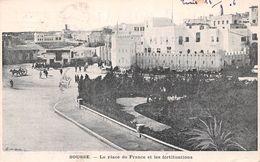 Tunisie - Sousse - La Place De France Et Les Fortifications - Tunisia