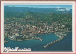 Imperia. Panorama Aereo. Il Porto. Non Viaggiata. Originale - Imperia