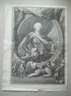1799 CARLO III INC. MORGHEN CM 48 X 35,5 - RARISSSIMA - Lithographies
