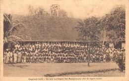 Engels Indië De 422 Leerlingenvan MULAGAMUDU Voor De Lagere School Ecole    M 3622 - India