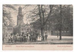 Kampen - Nieuwe Markt Muziektent - 1905 - Kampen