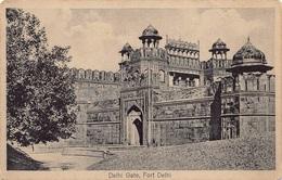 Engels Indië Delhi Gate Fort Delhi   M 3624 - India
