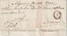 AUTRICHE LETTRE DE ESZTERGOM - ...-1850 Préphilatélie