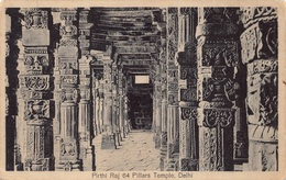 India  Indië  Pirthi Raj 64 Pillars Temple Delhi    M 3630 - India