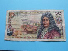 50 Francs ( 12269 - L.196 ) H.2-3-1972.H. / 0488512269 ( Voir Photo SVP > Please See Photo ) ! - 1962-1997 ''Francs''