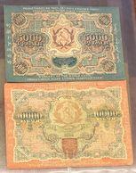 Russia 5000+10000 Rubli Rubles 1919 Q.bb/bb  LOTTO 3261 - Russia
