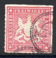 WURTEMBERG - YT N° 31 - Cote: 4,00 € - Wuerttemberg