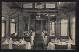 DF2424 - INTERIOR OF TRAIN RESTAURANT, DINING CAR - Sweden