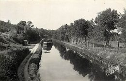- Loiret -ref-A784- Dordives - Le Canal Du Loing - Peniche Antibes - Peniches - Canaux - Carte Bon Etat - - Dordives