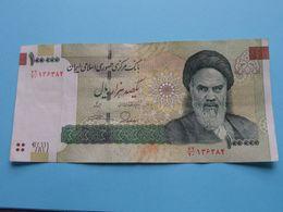 100 000 RIALS One Hundred Thousand ( Saadi Tomb Shiraz ) >>> ( Voir Photo SVP > Please See Photo ) ! - Iran