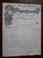L15/122 Ancienne Facture. Marseille. Amer Picon. 1894 - France