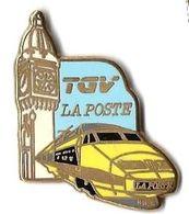 TGV POSTAL - T3 - TGV LA POSTE - PARIS-LYON - Verso : TGV LA POSTE 1984 - BALLARD - TGV