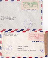 USA LOT DE2 LETTRE CENSUREES - Briefe U. Dokumente